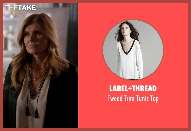 Label+Thread white top from Nashville seen with Rayna Jaymes  (Connie Britton)
