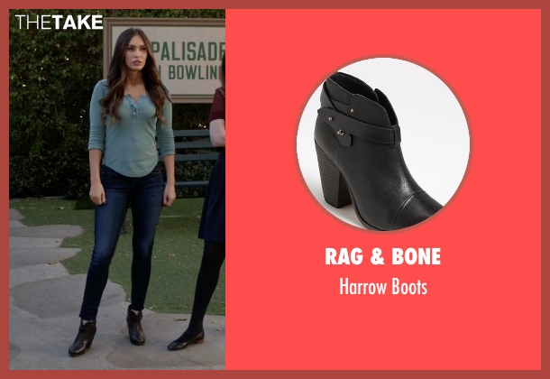 Rag & Bone black boots from New Girl seen with Reagan (Megan Fox)