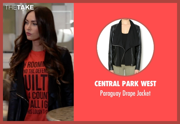 Central Park West black jacket from New Girl seen with Reagan (Megan Fox)