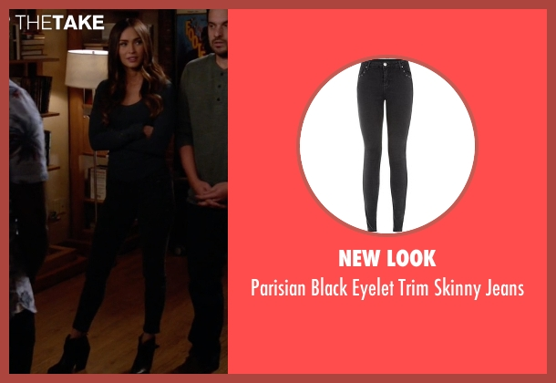 New Look black jeans from New Girl seen with Reagan (Megan Fox)