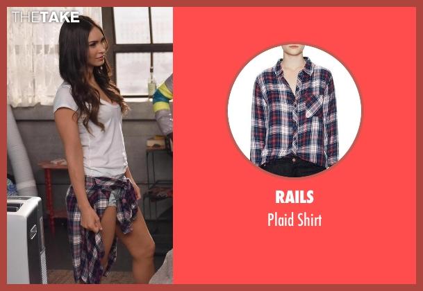 Rails  black shirt from New Girl seen with Reagan (Megan Fox)