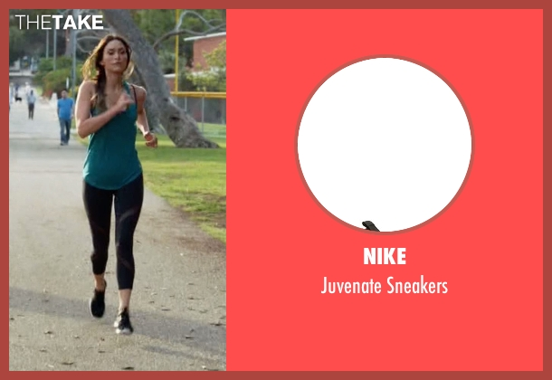 Nike black sneakers from New Girl seen with Reagan (Megan Fox)