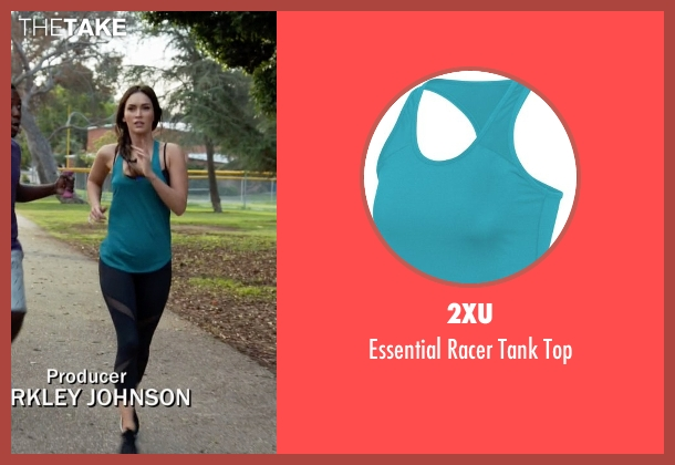 2XU blue top from New Girl seen with Reagan (Megan Fox)