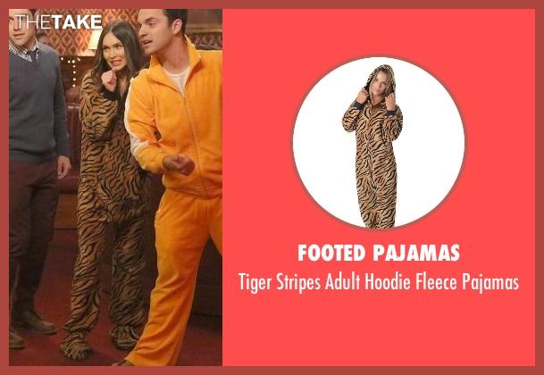 Footed Pajamas pajamas from New Girl seen with Reagan (Megan Fox)
