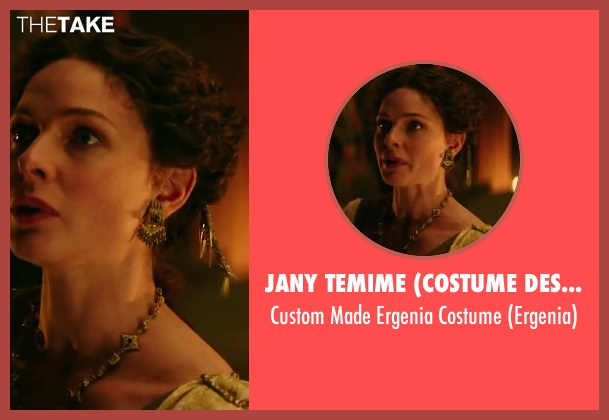 Jany Temime (Costume Designer) costume from Hercules seen with Rebecca Ferguson (Ergenia)