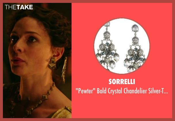 Sorrelli earrings from Hercules seen with Rebecca Ferguson (Ergenia)