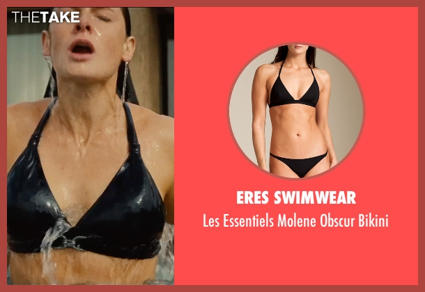 Eres Swimwear black bikini from Mission: Impossible - Rogue Nation seen with Rebecca Ferguson (Ilsa Faust)