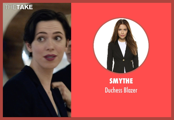 Smythe black blazer from The Gift seen with Rebecca Hall (Robyn)