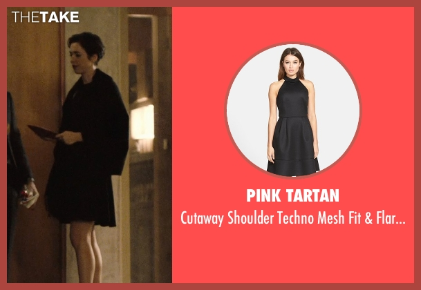 Pink Tartan black dress from The Gift seen with Rebecca Hall (Robyn)
