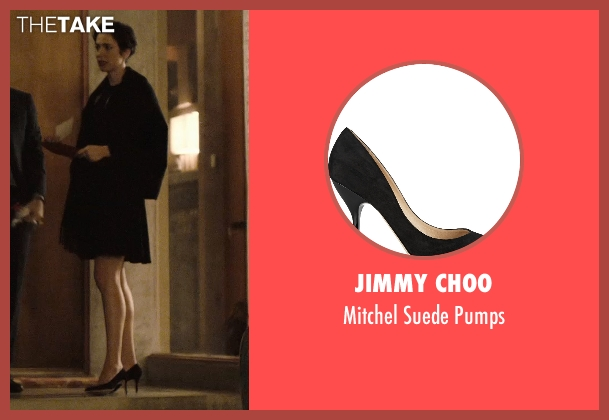 Jimmy Choo black pumps from The Gift seen with Rebecca Hall (Robyn)