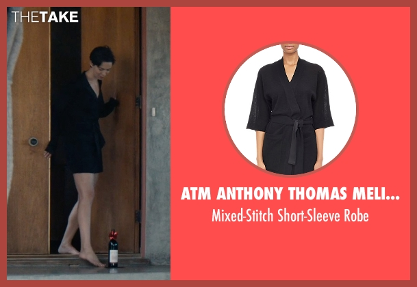 Atm Anthony Thomas Melillo black robe from The Gift seen with Rebecca Hall (Robyn)