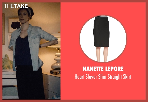 Nanette Lepore black skirt from The Gift seen with Rebecca Hall (Robyn)