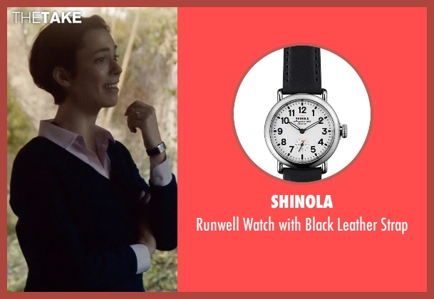 Shinola black strap from The Gift seen with Rebecca Hall (Robyn)