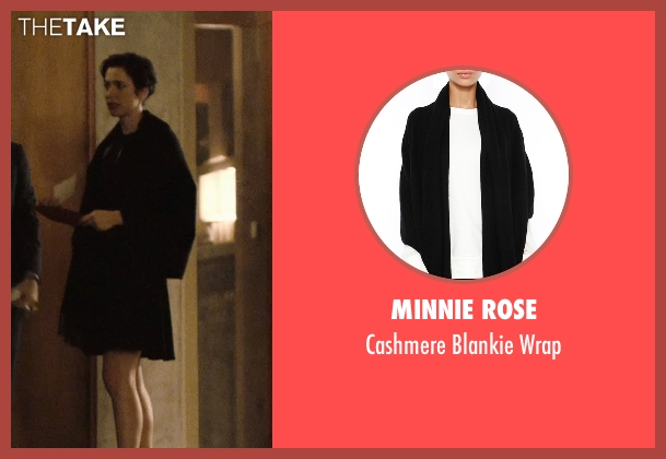 Minnie Rose black wrap from The Gift seen with Rebecca Hall (Robyn)