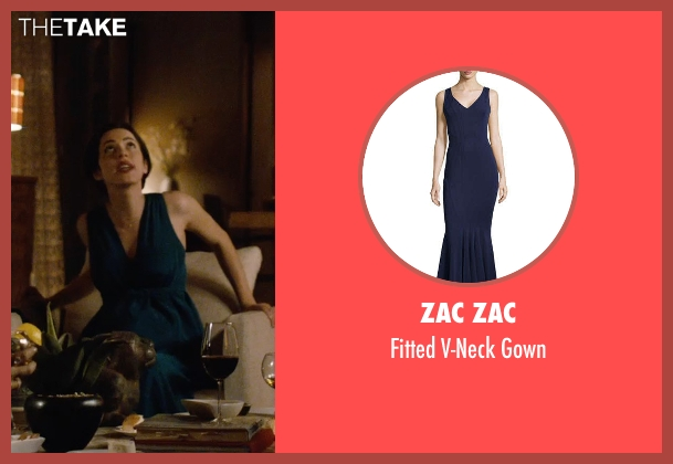 Zac Zac blue gown from The Gift seen with Rebecca Hall (Robyn)