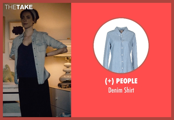 (+) People blue shirt from The Gift seen with Rebecca Hall (Robyn)