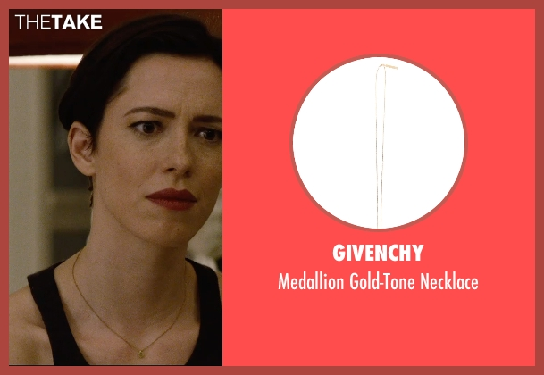 Givenchy gold necklace from The Gift seen with Rebecca Hall (Robyn)