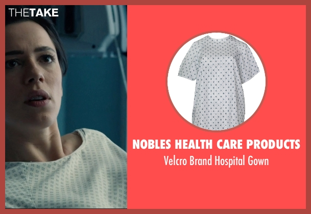 Nobles Health Care Products gown from The Gift seen with Rebecca Hall (Robyn)