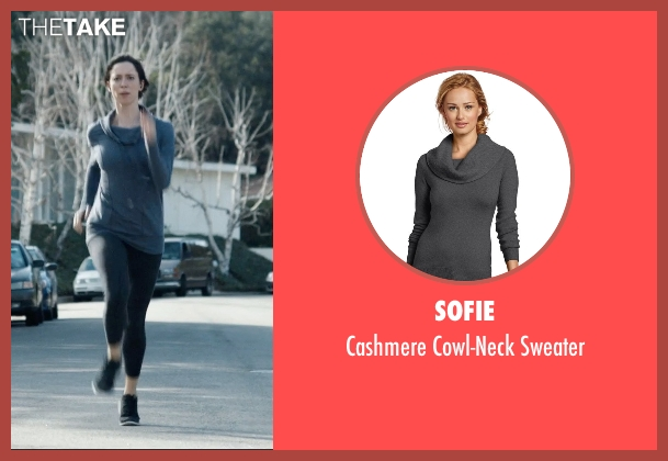Sofie gray sweater from The Gift seen with Rebecca Hall (Robyn)