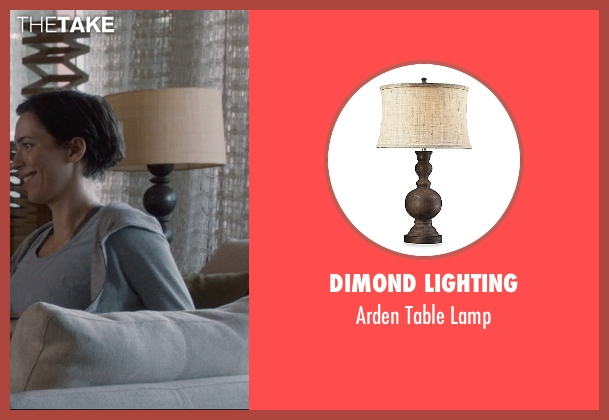 Dimond Lighting lamp from The Gift seen with Rebecca Hall (Robyn)