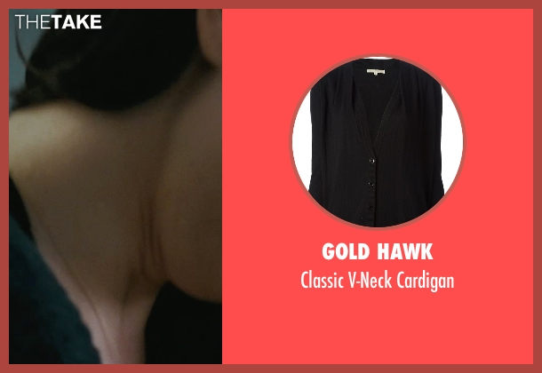 Gold Hawk black cardigan from The Town seen with Rebecca Hall (Claire Keesey)