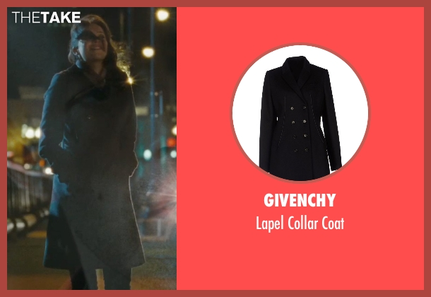 Givenchy black coat from The Town seen with Rebecca Hall (Claire Keesey)