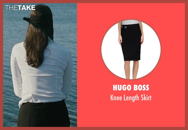 Hugo Boss black skirt from The Town seen with Rebecca Hall (Claire Keesey)