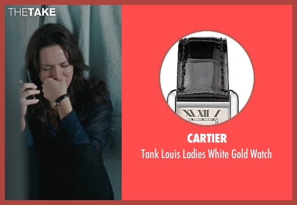 Cartier black watch from The Town seen with Rebecca Hall (Claire Keesey)