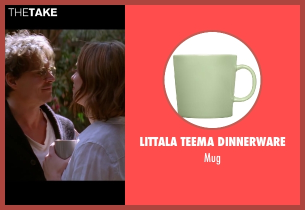 Littala Teema Dinnerware green mug from Transcendence seen with Rebecca Hall (Evelyn Caster)