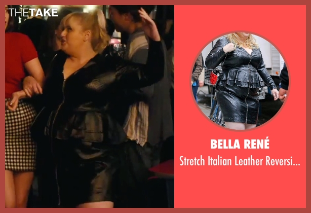 Bella René black dress from How To Be Single seen with Rebel Wilson (Robin)