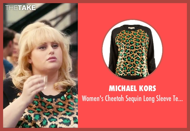 Michael Kors black top from How To Be Single seen with Rebel Wilson (Robin)
