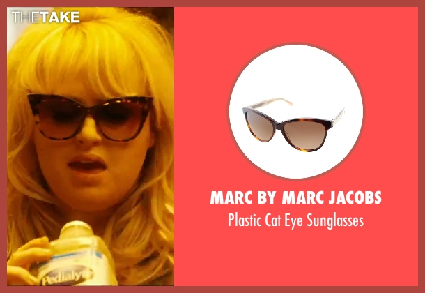 Marc By Marc Jacobs brown sunglasses from How To Be Single seen with Rebel Wilson (Robin)