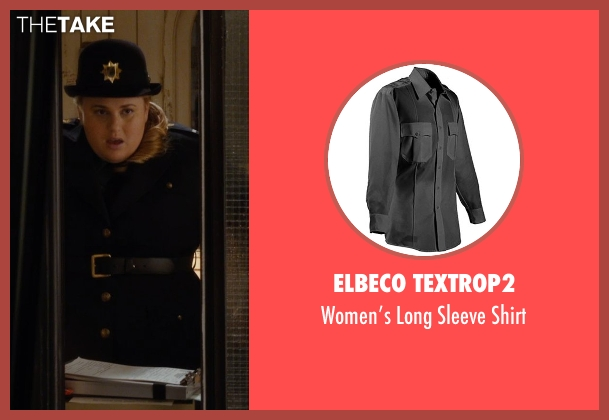 Elbeco TexTrop2 black shirt from Night at the Museum: Secret of the Tomb seen with Rebel Wilson (Tilly)