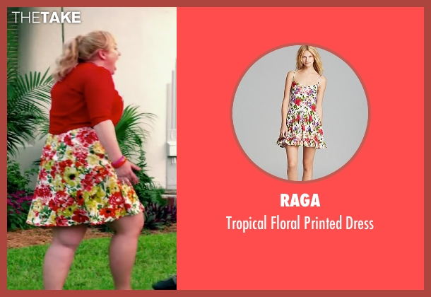 Raga dress from Pain & Gain seen with Rebel Wilson (Robin Peck)