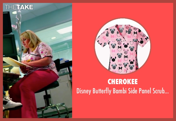 Cherokee pink top from Pain & Gain seen with Rebel Wilson (Robin Peck)