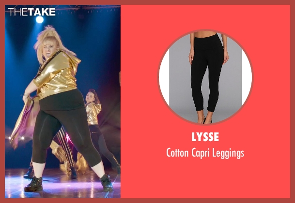 Lysse black leggings from Pitch Perfect 2 seen with Rebel Wilson (Fat Amy)