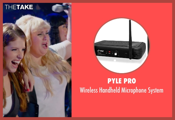 Pyle Pro system from Pitch Perfect 2 seen with Rebel Wilson (Fat Amy)