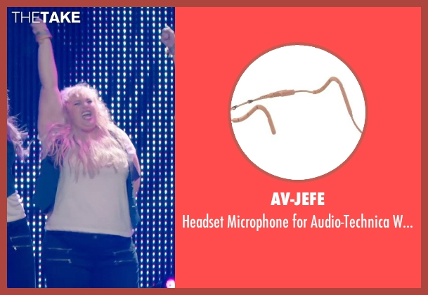 AV-JEFE systems from Pitch Perfect 2 seen with Rebel Wilson (Fat Amy)
