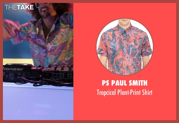 PS Paul Smith shirt from Alvin and the Chipmunks: The Road Chip seen with Redfoo