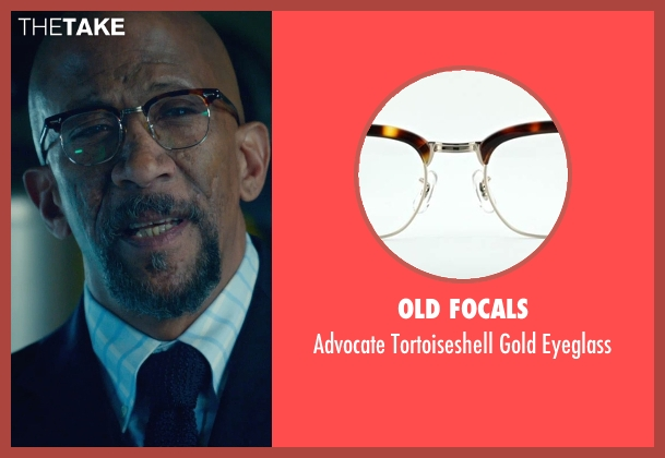 Old Focals brown eyeglass from Fantastic Four seen with Reg E. Cathey (Dr. Franklin Storm)