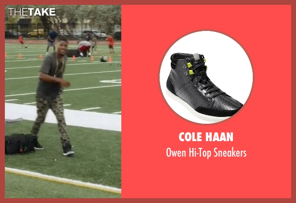 Cole Haan black sneakers from Ballers seen with Reggie (London Brown)