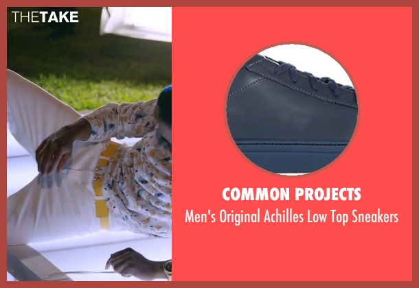 Common Projects blue sneakers from Ballers seen with Reggie (London Brown)