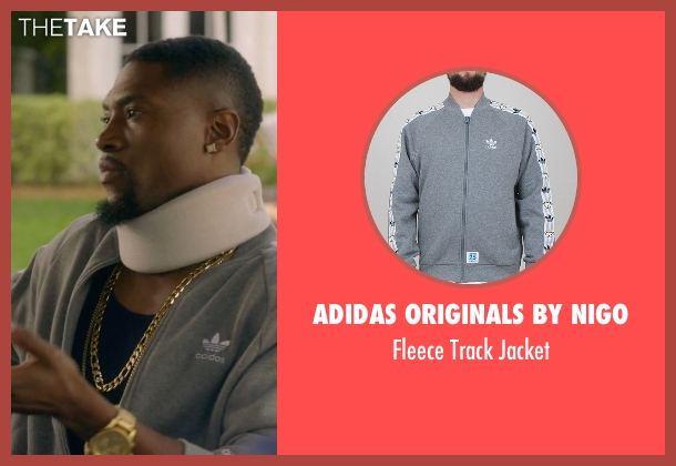 Adidas Originals by Nigo gray jacket from Ballers seen with Reggie (London Brown)