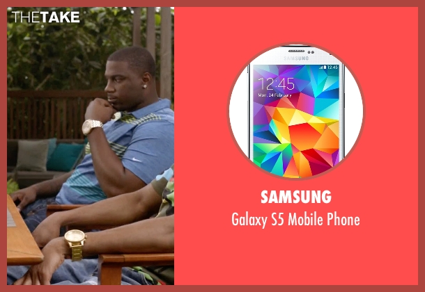 Samsung phone from Ballers seen with Reggie (London Brown)