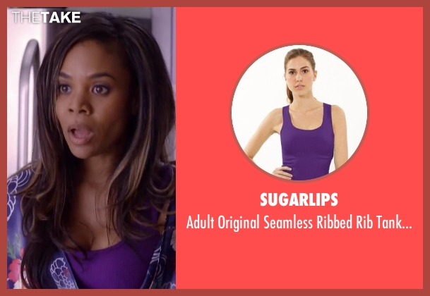 Sugarlips purple top from About Last Night seen with Regina Hall (Joan)