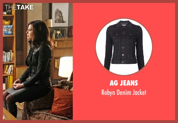 AG Jeans black jacket from Once Upon a Time seen with Regina Mills (Lana Parrilla)