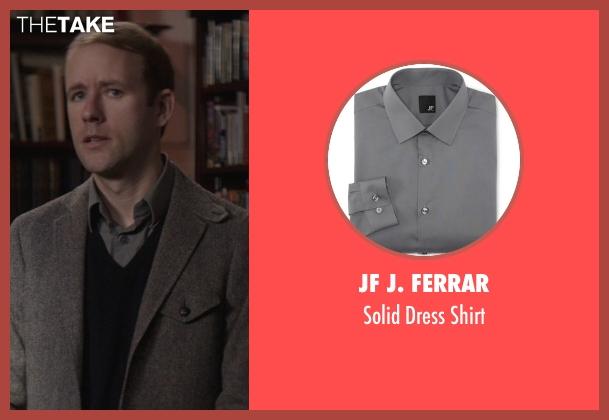 Reif larsen jf j ferrar solid dress shirt from that for J ferrar military shirt