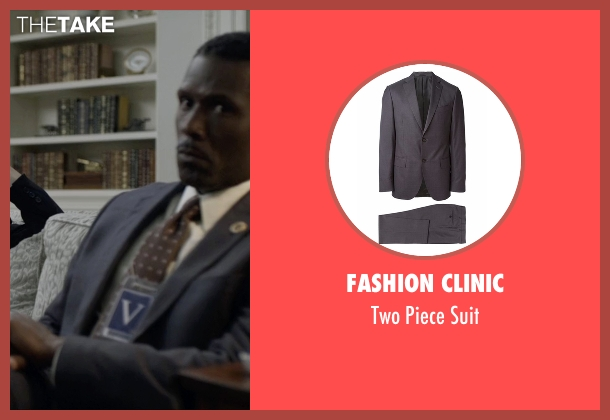 Fashion Clinic gray suit from House of Cards seen with Remy Danton (Mahershala Ali)