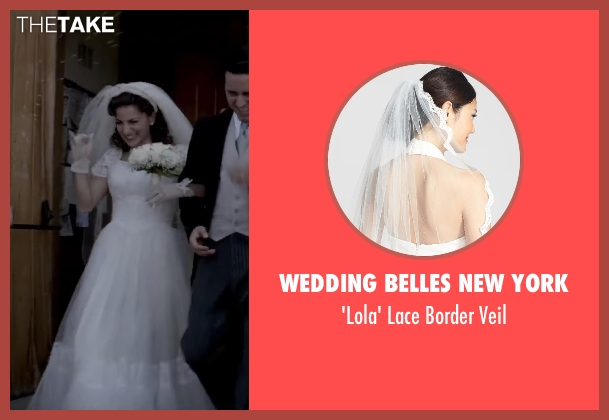 WEDDING BELLES NEW YORK veil from Jersey Boys seen with Renée Marino (Mary Delgado)