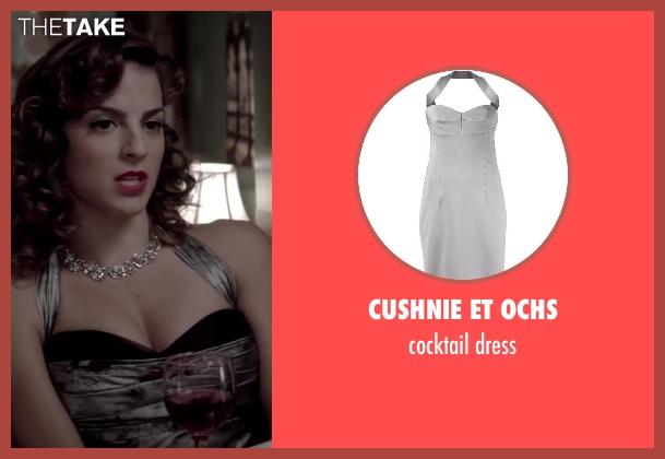 CUSHNIE ET OCHS white dress from Jersey Boys seen with Renée Marino (Mary Delgado)
